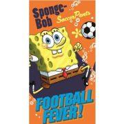 Spongyabob kéztörlő, törölköző 35*65 cm, Football, narancssárga