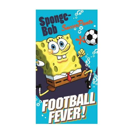 Spongyabob kéztörlő, törölköző 35*65 cm, Football