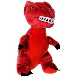 Jurassic World piros plüss 35 cm