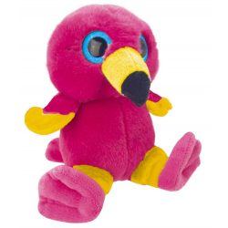 Flamingó plüss figura 15cm