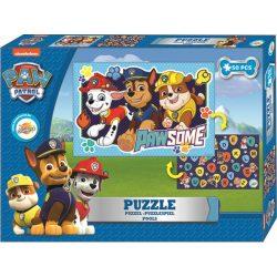 Mancs őrjárat puzzle 50db, kétoldalas, fiúknak