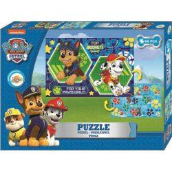 Mancs őrjárat puzzle 99db, kétoldalas, fiúknak
