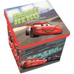 Verdák játéktároló doboz 30*30*30cm