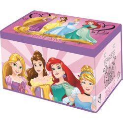 Hercegnők játéktároló doboz 55cm
