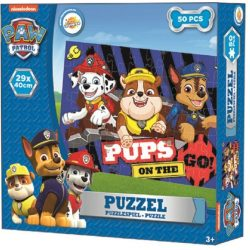 Mancs őrjárat puzzle 50 db, fiúknak