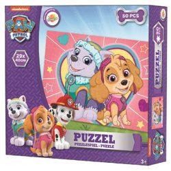 Mancs őrjárat puzzle 50 db, lányoknak