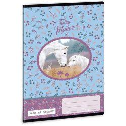 Lovas füzet A/5, 32 lap szótár, Fairy Manor