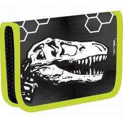 Dinoszaurusz tolltartó, klapnis, üres, 3D