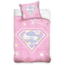 Superbaby ovis ágyneműhuzat szett lányoknak, 100*135 cm, 40*60 cm
