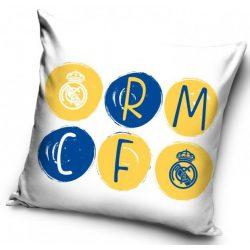 Real Madrid párnahuzat 40*40 cm, kék-sárga