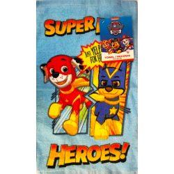 Mancs őrjárat kéztörlő, törölköző 30*50 cm, Super Heroes