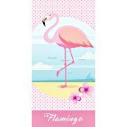 Flamingó fürdőlepedő, törölköző 70*140 cm
