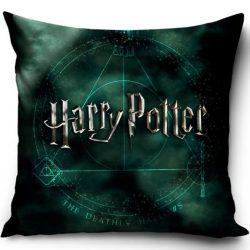 Harry Potter párnahuzat 40*40 cm, Black