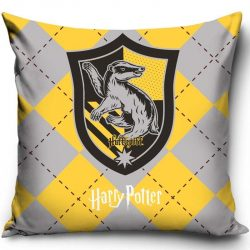 Harry Potter párnahuzat 40*40 cm, Hufflepuff