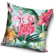Flamingó párnahuzat, 40*40 cm