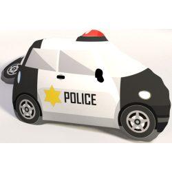 Rendőr autó párna, formapárna