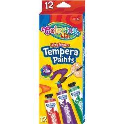 Colorino tempera készlet, tubusos, 12x12ml