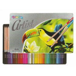 Színes ceruza készlet 36 db-os, Colorino Artist, fém dobozban