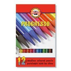 Színes ceruza készlet 12db-os, Progresso