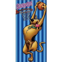 Scooby Doo fürdőlepedő, törölköző 70*140 cm, kosárlabda