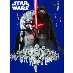 Star Wars polár takaró, ágytakaró 150*200 cm, sötétkék