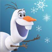 Jégvarázs kéztörlő, arctörlő 30*30cm, Olaf