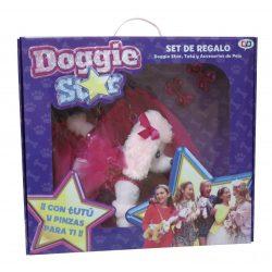 Doggie Star szett, Doggie tütüvel és haj kiegészítőkkel, többféle