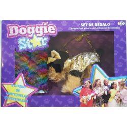 Doggie Star szett, Doggie és napló flitterekkel