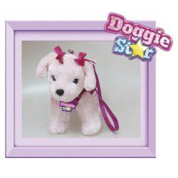 Doggie Star uszkár flitterekkel, 25cm