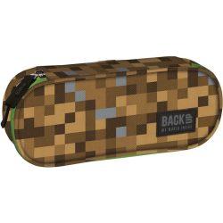 Minecraft mintás tolltartó, beledobálós, BackUp, 23 cm