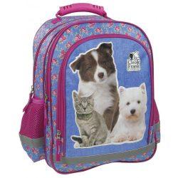 Cicás kutyás táska, hátizsák 39 cm