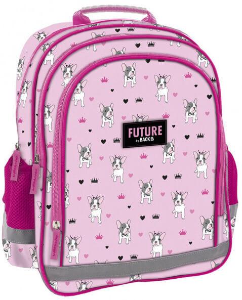 fb140ca9f6c1 Kutyás iskolatáska, hátizsák, 38 cm, rózsaszín - Perfect Baby Webáruház