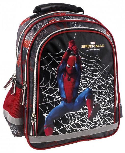 Gyerekeknek ajándék : 3D iskolai hátizsák Pókember