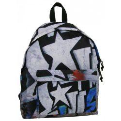 Graffiti Teen hátizsák, iskolatáska 42 cm, Star