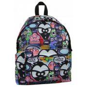 42bd3b31f410 Paso gurulós hátizsák, táska, 49 cm, szürke, kis kutyákkal - Perfect ...