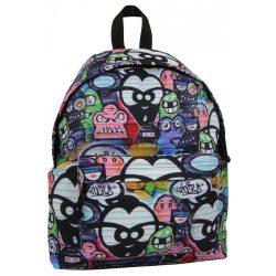 Graffiti Teen hátizsák, iskolatáska 42 cm, Eyes