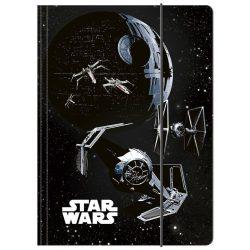 Star Wars gumis mappa A/4, többféle