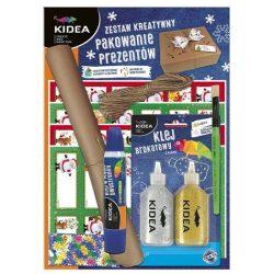Karácsonyi ajándékcsomagoló szett, Kidea