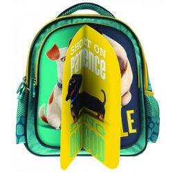 Kis kedvencek titkos élete táska, hátizsák 31 cm 3 az 1-ben