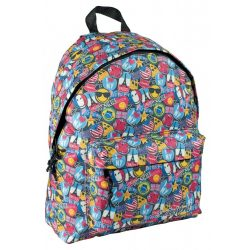 Emoji táska, hátizsák 40 cm