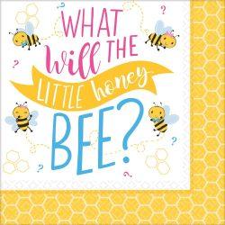Méhecske szalvéta 16 db-os
