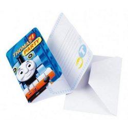 Thomas party meghívó 6 db-os