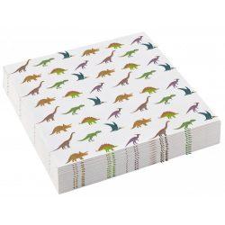 Dinoszaurusz szalvéta 20 db-os