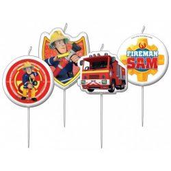 Sam a tűzoltó gyertya, 4 db/csomag