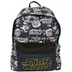 Star Wars iskolatáska, hátizsák 42 cm, BB-8