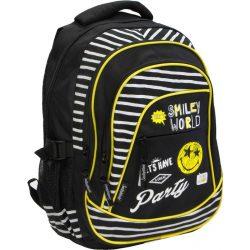 Emoji hátizsák, iskolatáska, 46 cm, Party