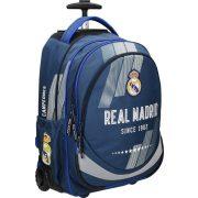 Real Madrid gurulós hátizsák, iskolatáska 46cm, kék