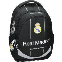 Real Madrid ergonomikus hátizsák, iskolatáska, 46 cm, fekete