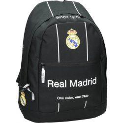 Real Madrid hátizsák, iskolatáska, 45 cm, fekete