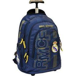 Real Madrid gurulós hátizsák, iskolatáska, 47 cm